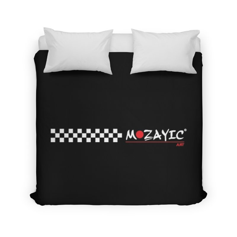 Racing Home Duvet by Mozayic's Artist Shop