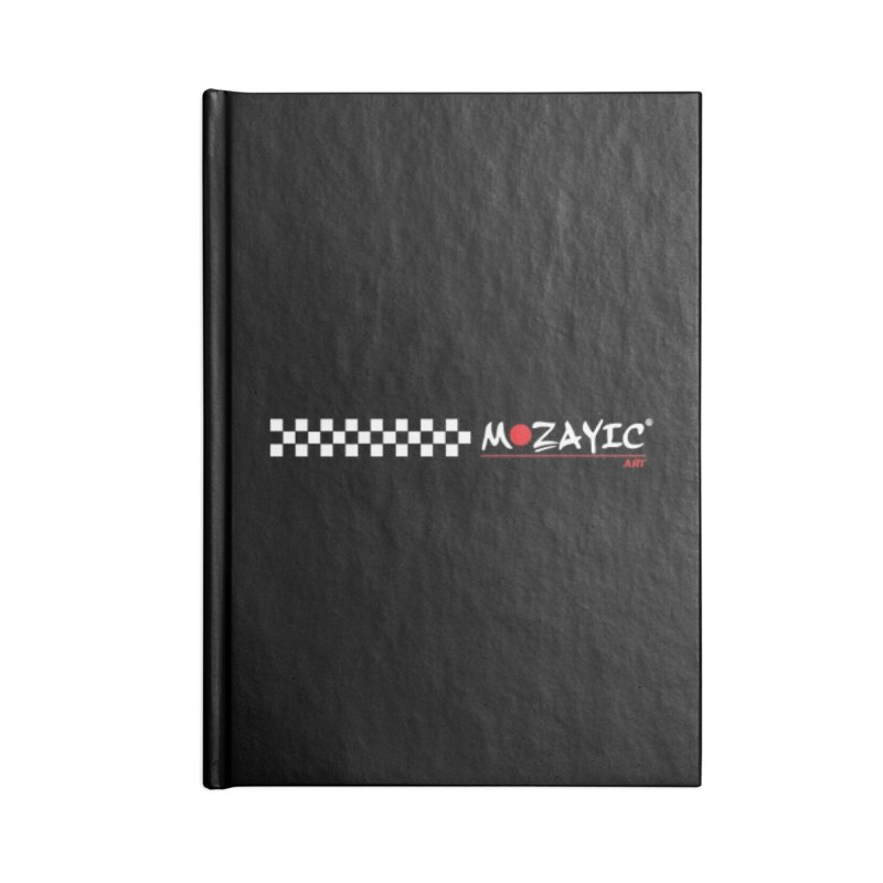 Racing Accessories Notebook by Mozayic's Artist Shop