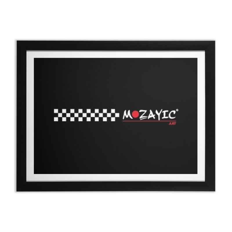 Racing Home Framed Fine Art Print by Mozayic's Artist Shop