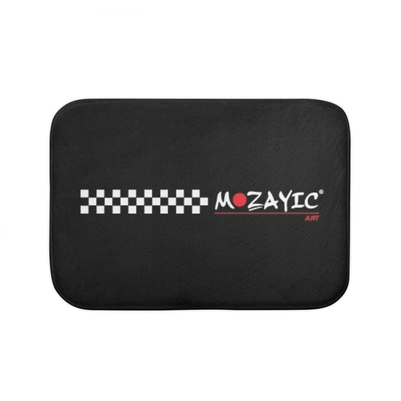 Racing Home Bath Mat by Mozayic's Artist Shop
