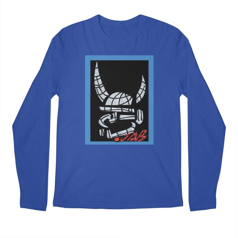 Jab Planet Men's Regular Longsleeve T-Shirt by Mozayic's Artist Shop