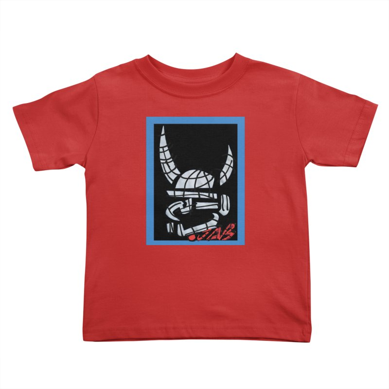 Jab Planet Kids Toddler T-Shirt by Mozayic's Artist Shop