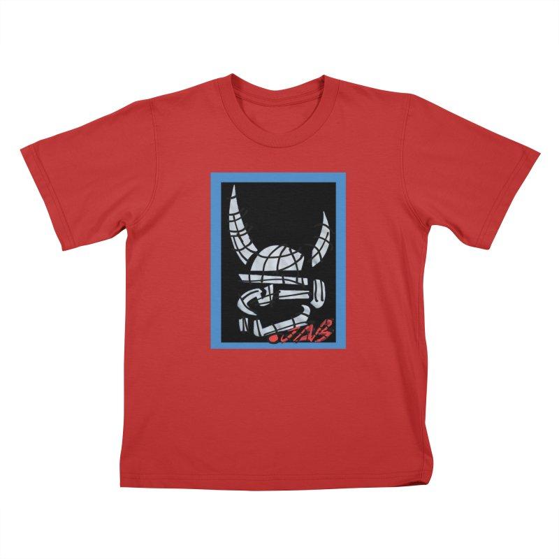 Jab Planet Kids T-Shirt by Mozayic's Artist Shop