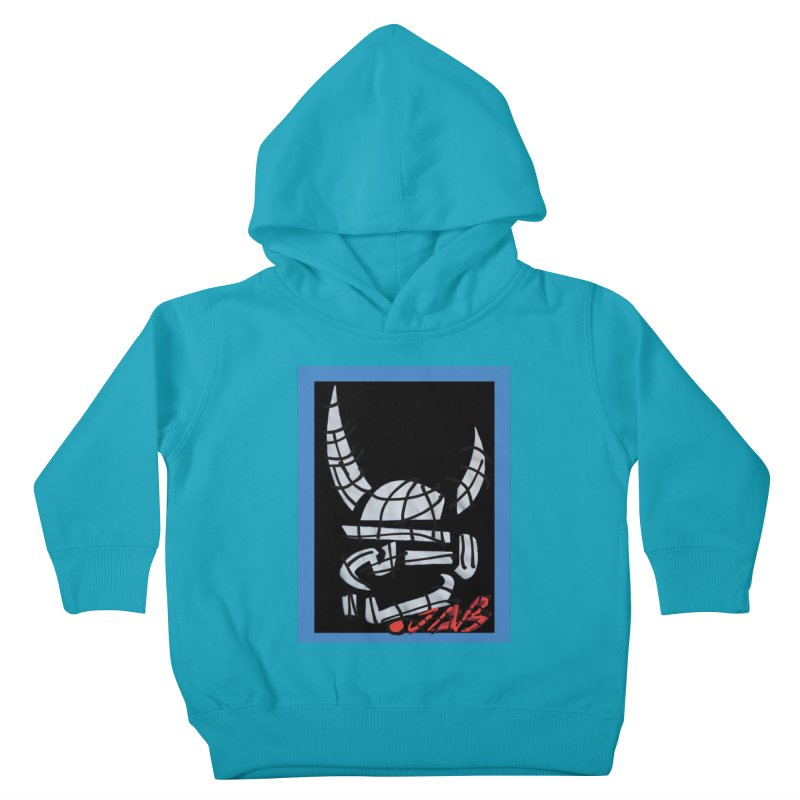 Jab Planet Kids Toddler Pullover Hoody by Mozayic's Artist Shop