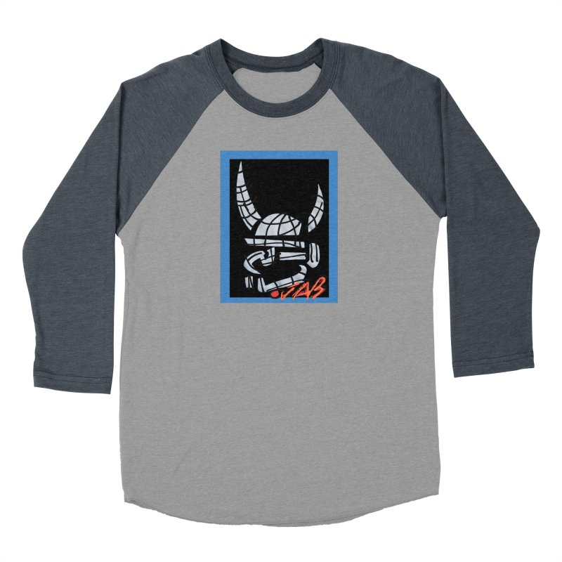 Jab Planet Women's Baseball Triblend Longsleeve T-Shirt by Mozayic's Artist Shop