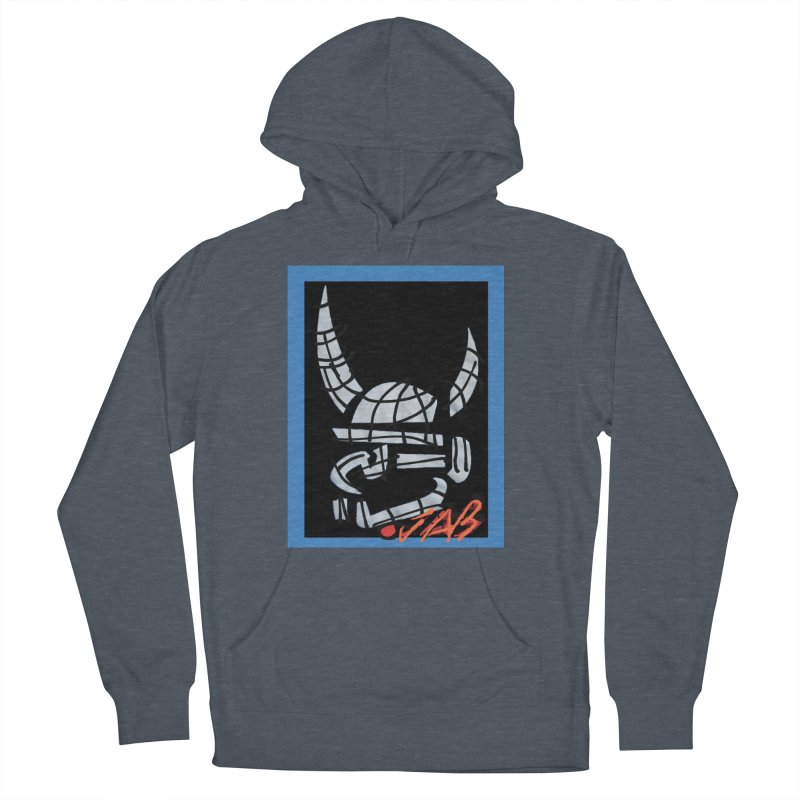 Jab Planet Men's French Terry Pullover Hoody by Mozayic's Artist Shop