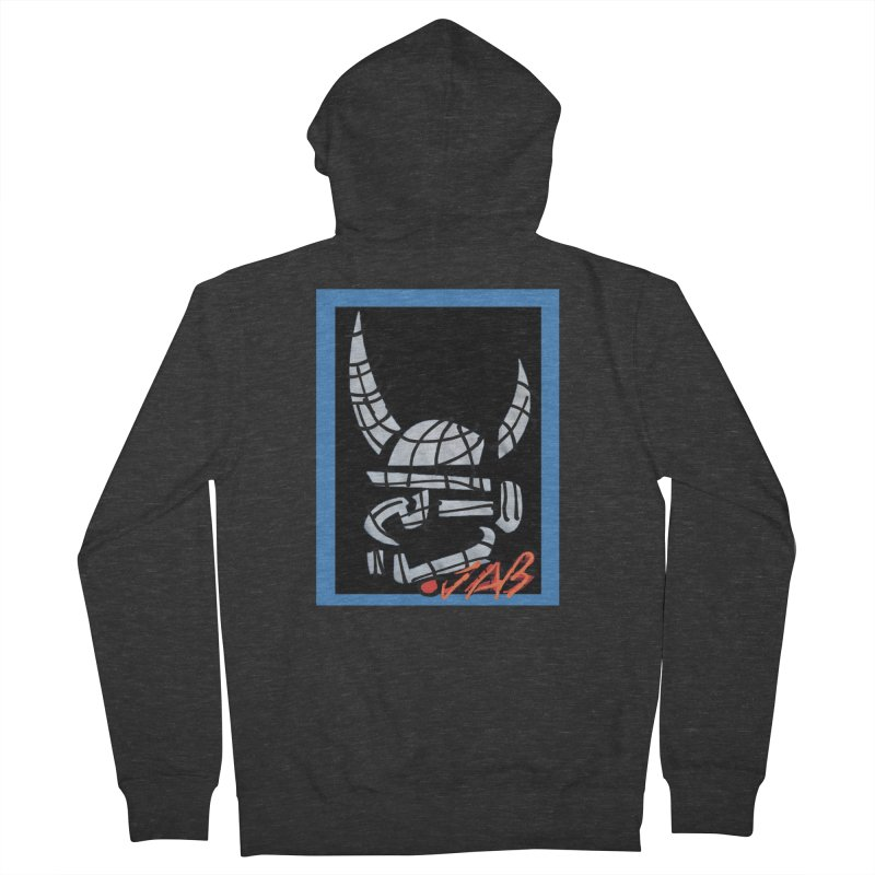 Jab Planet Men's French Terry Zip-Up Hoody by Mozayic's Artist Shop