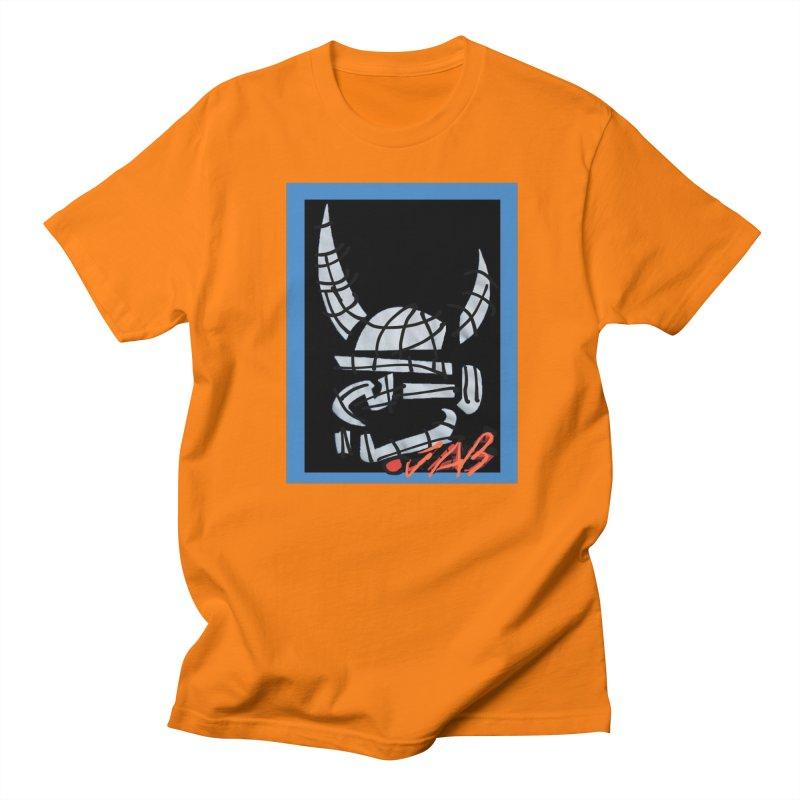 Jab Planet Men's Regular T-Shirt by Mozayic's Artist Shop