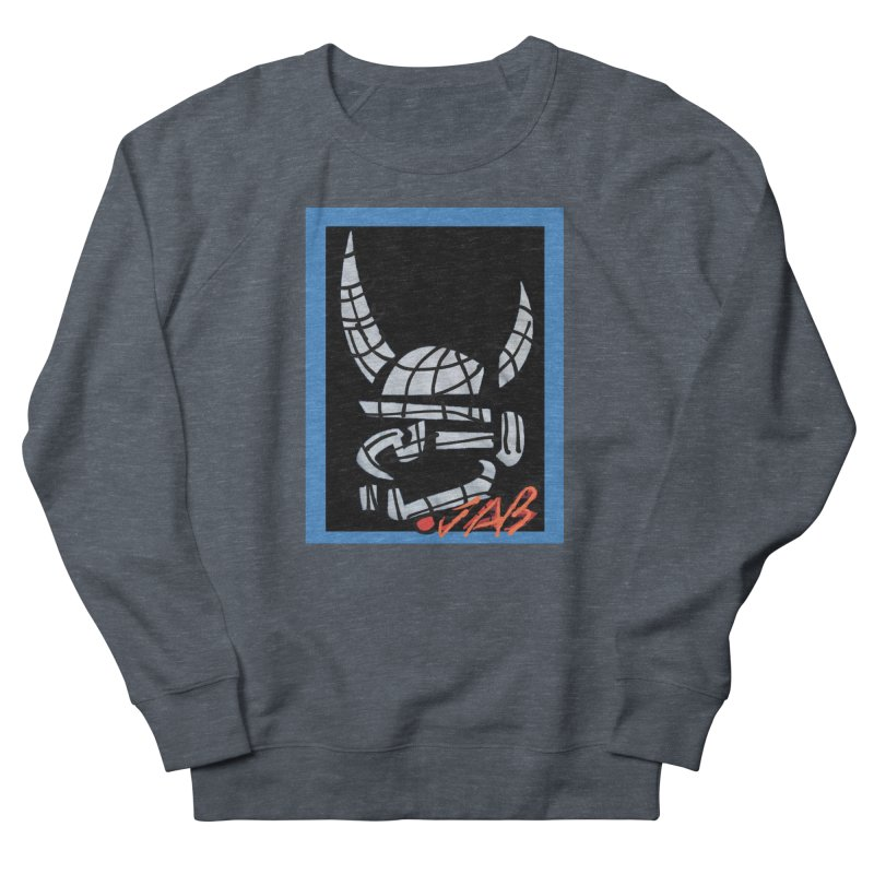Jab Planet Men's French Terry Sweatshirt by Mozayic's Artist Shop