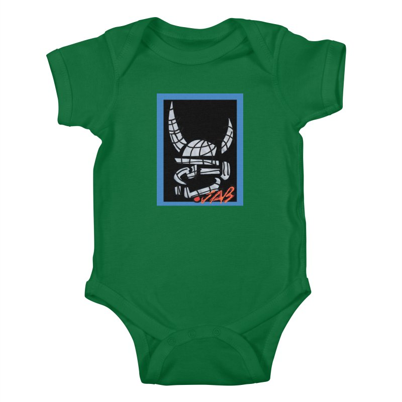 Jab Planet Kids Baby Bodysuit by Mozayic's Artist Shop