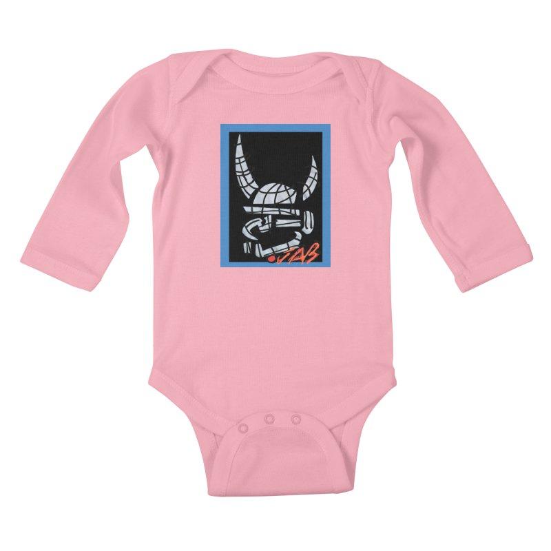 Jab Planet Kids Baby Longsleeve Bodysuit by Mozayic's Artist Shop