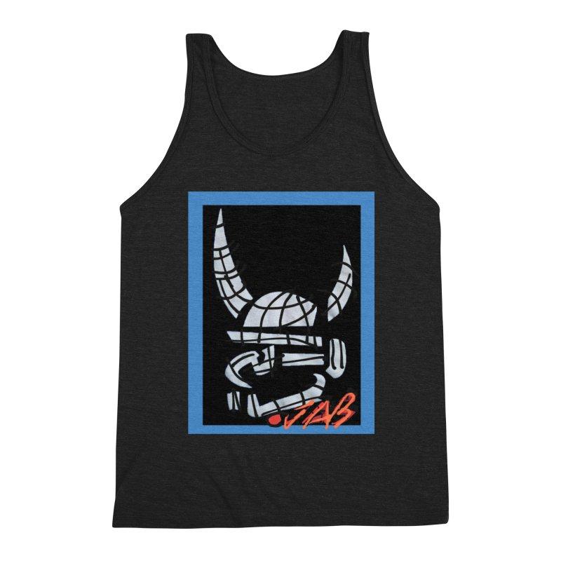 Jab Planet Men's Triblend Tank by Mozayic's Artist Shop