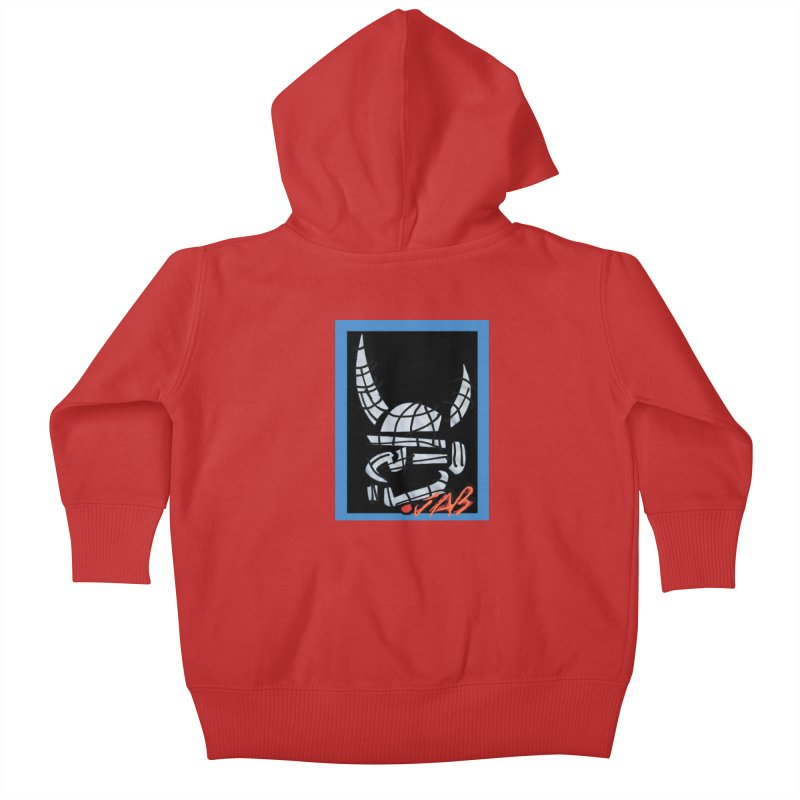 Jab Planet Kids Baby Zip-Up Hoody by Mozayic's Artist Shop