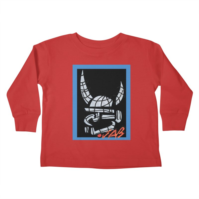 Jab Planet Kids Toddler Longsleeve T-Shirt by Mozayic's Artist Shop