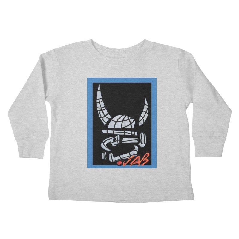 Jab Planet Kids Toddler Longsleeve T-Shirt by Mozayic's Artist Shop