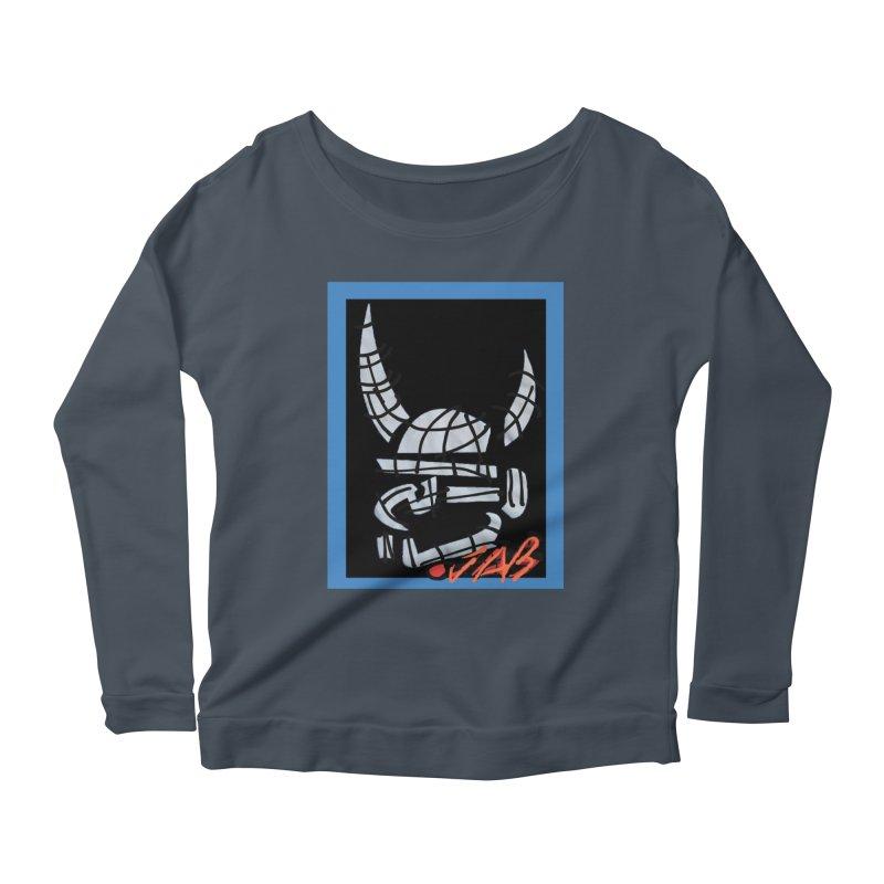 Jab Planet Women's Scoop Neck Longsleeve T-Shirt by Mozayic's Artist Shop