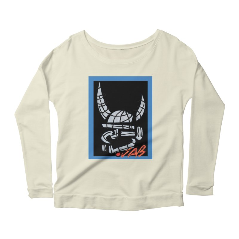 Jab Planet Women's Scoop Neck Longsleeve T-Shirt by Mozayic's Artist Shop