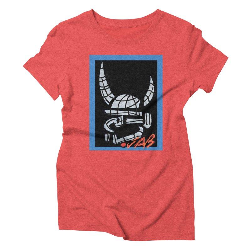 Jab Planet Women's Triblend T-Shirt by Mozayic's Artist Shop