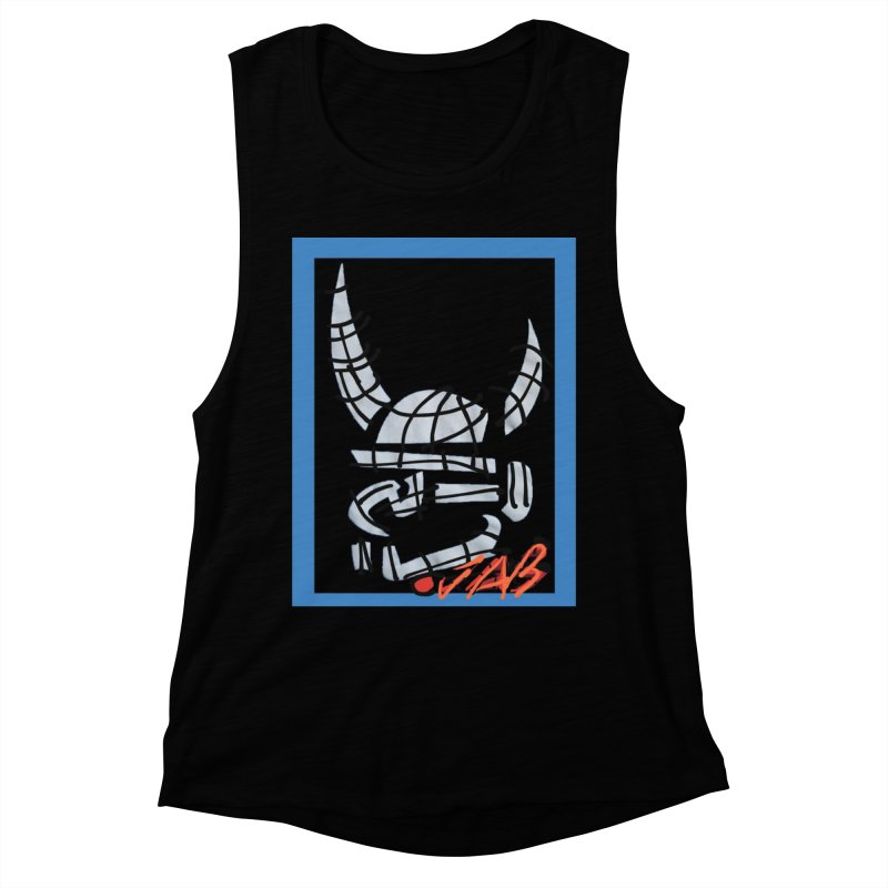 Jab Planet Women's Muscle Tank by Mozayic's Artist Shop