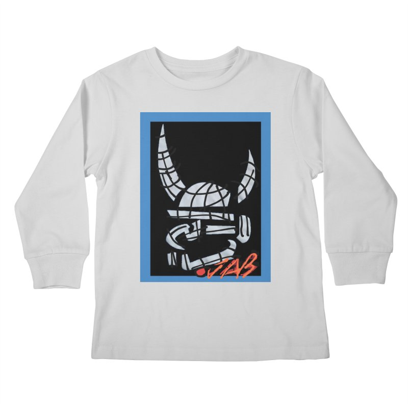 Jab Planet Kids Longsleeve T-Shirt by Mozayic's Artist Shop