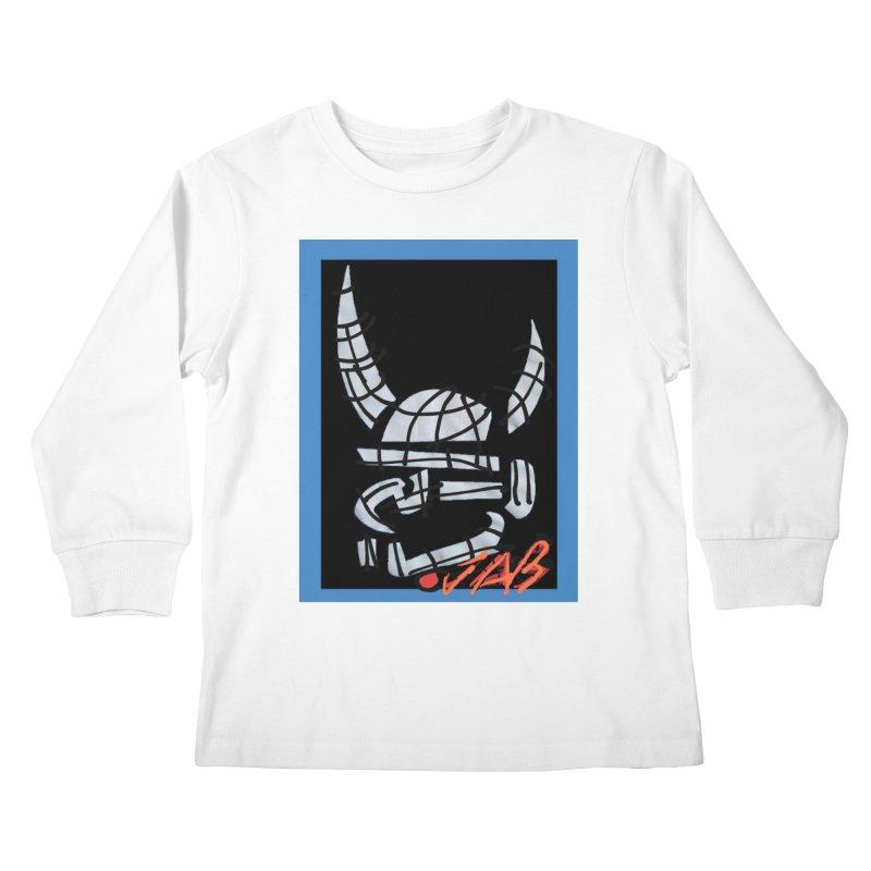 Jab Planet Kids Longsleeve T-Shirt by Mozayic's Artist Shop