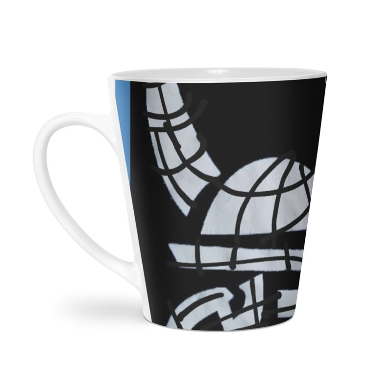 Jab Planet Accessories Latte Mug by Mozayic's Artist Shop