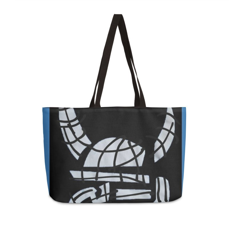 Jab Planet Accessories Weekender Bag Bag by Mozayic's Artist Shop