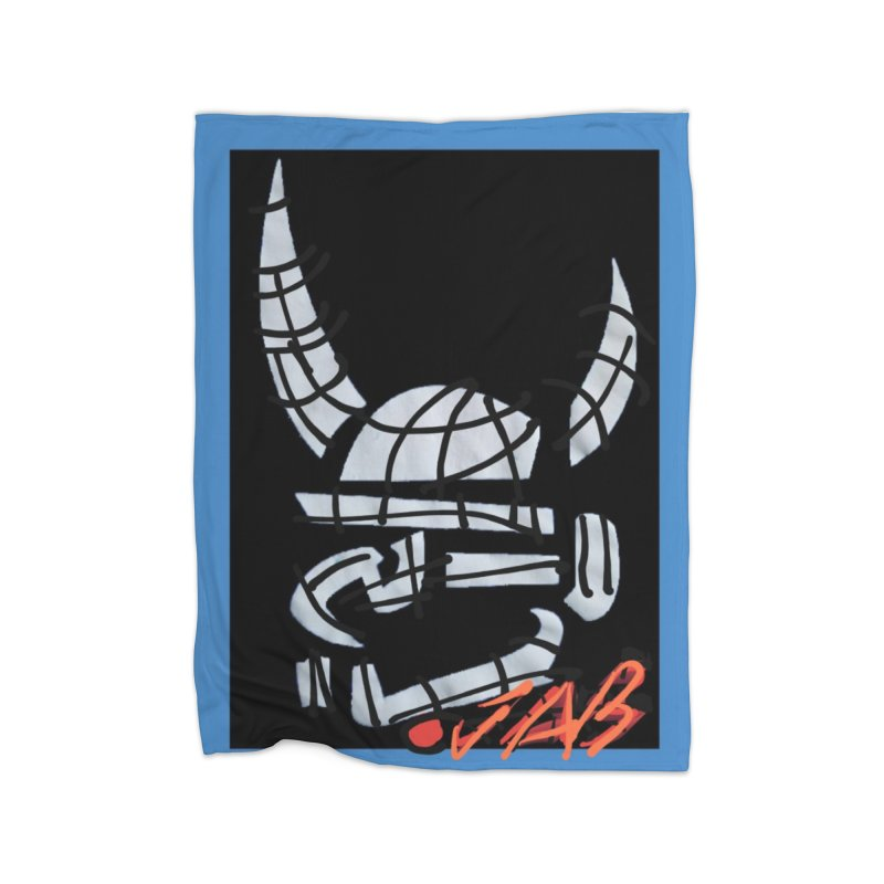 Jab Planet Home Fleece Blanket Blanket by Mozayic's Artist Shop