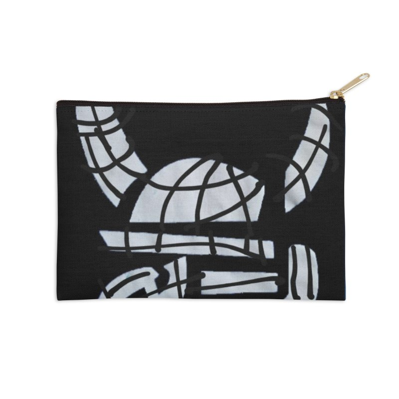 Jab Planet Accessories Zip Pouch by Mozayic's Artist Shop