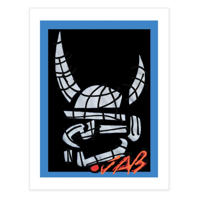 Jab Planet Home Fine Art Print by Mozayic's Artist Shop