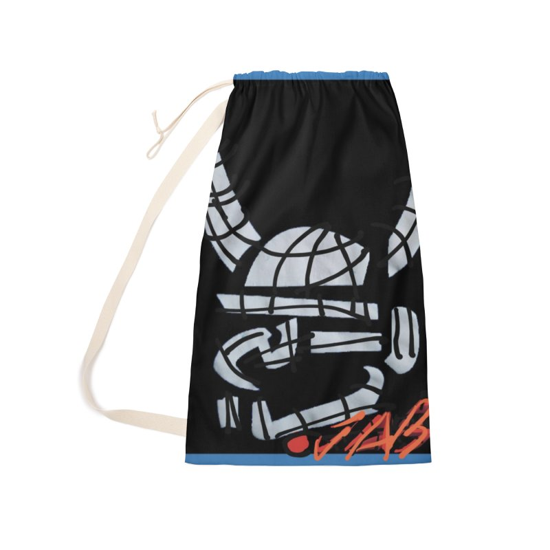 Jab Planet Accessories Laundry Bag Bag by Mozayic's Artist Shop