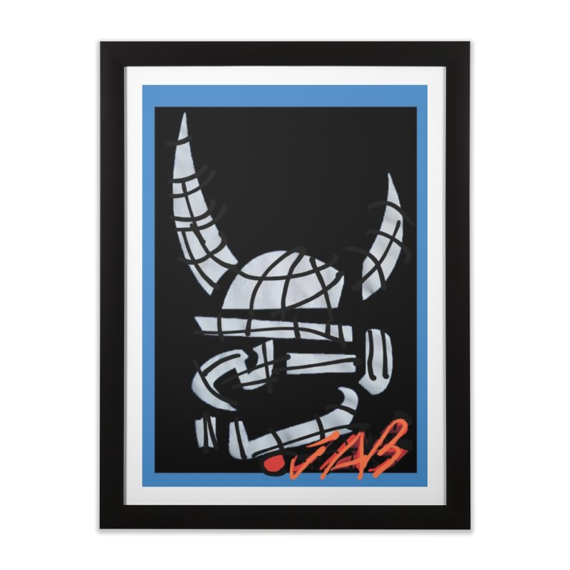 Jab Planet Home Framed Fine Art Print by Mozayic's Artist Shop