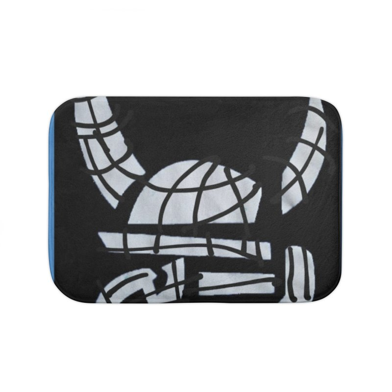 Jab Planet Home Bath Mat by Mozayic's Artist Shop