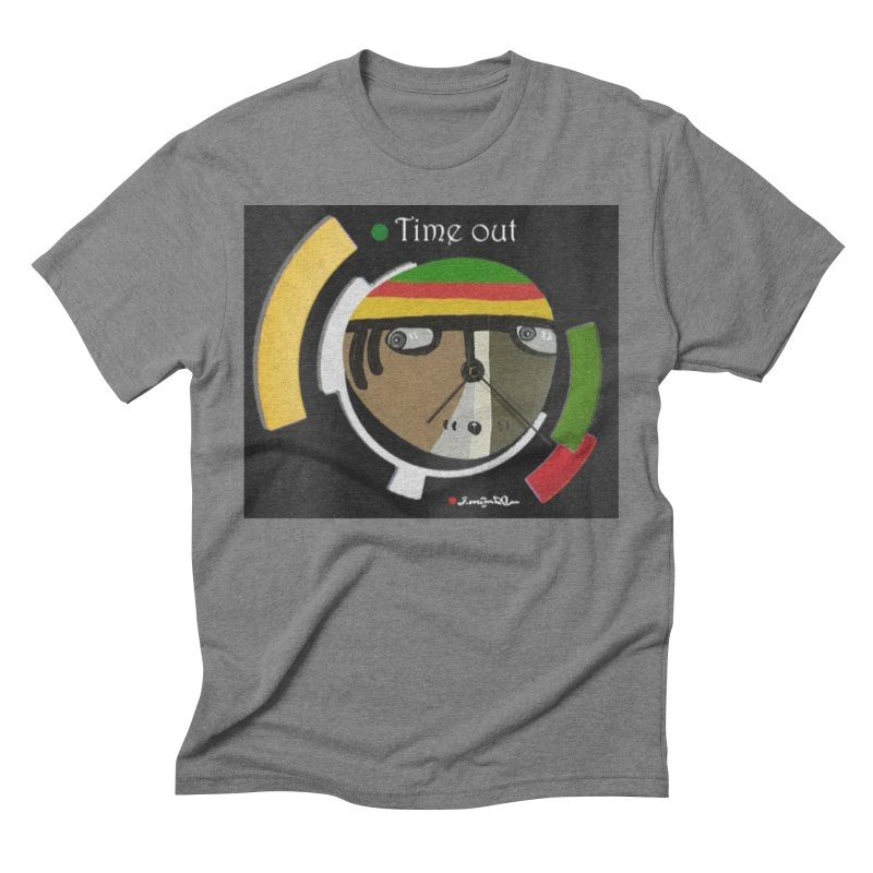 Time Out Men's T-Shirt by Mozayic's Artist Shop