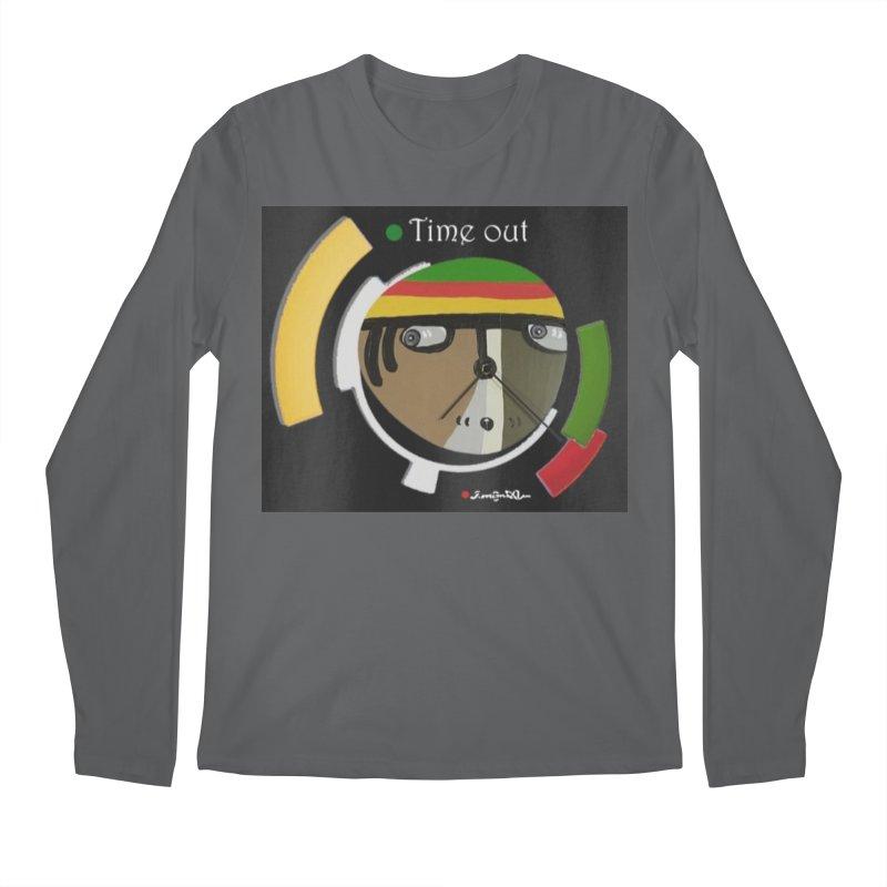 Time Out Men's Regular Longsleeve T-Shirt by Mozayic's Artist Shop