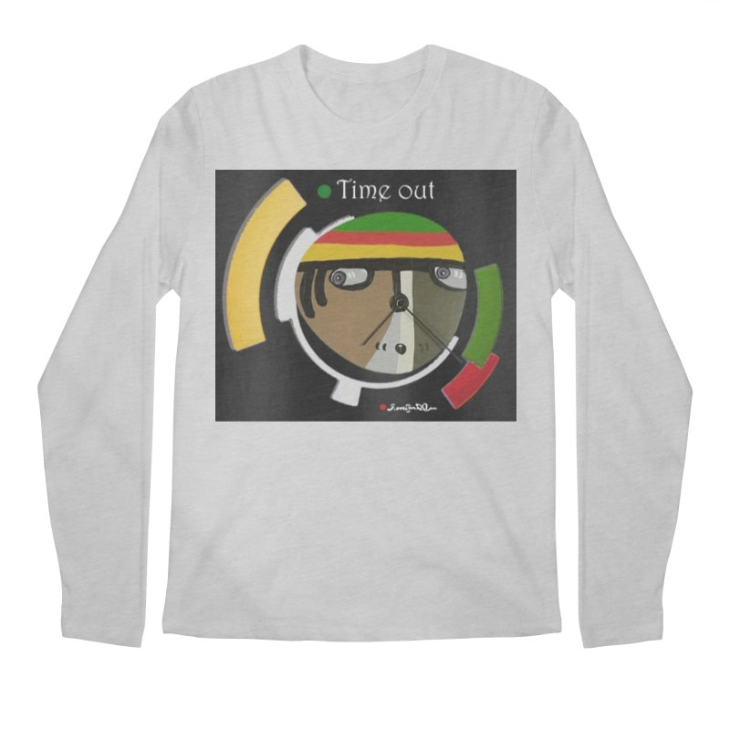 Time Out Men's Regular Longsleeve T-Shirt by Mozayic's Artist Shop