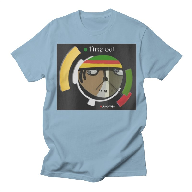 Time Out Women's Regular Unisex T-Shirt by Mozayic's Artist Shop