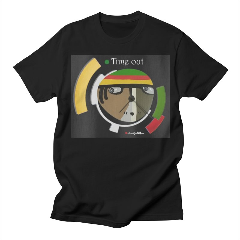 Time Out Men's Regular T-Shirt by Mozayic's Artist Shop