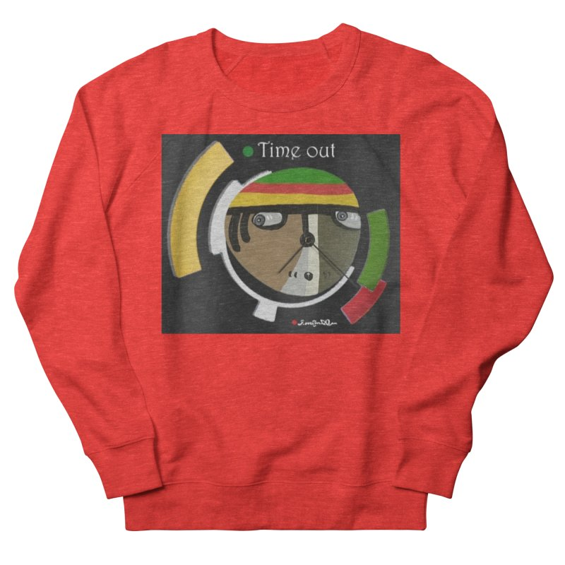 Time Out Men's Sweatshirt by Mozayic's Artist Shop