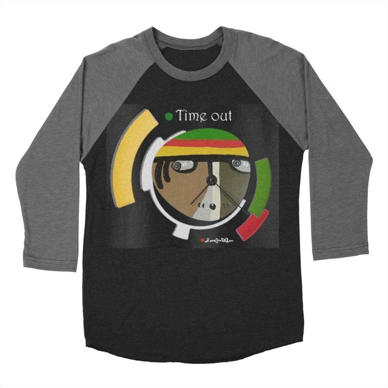 Time Out Women's Baseball Triblend Longsleeve T-Shirt by Mozayic's Artist Shop