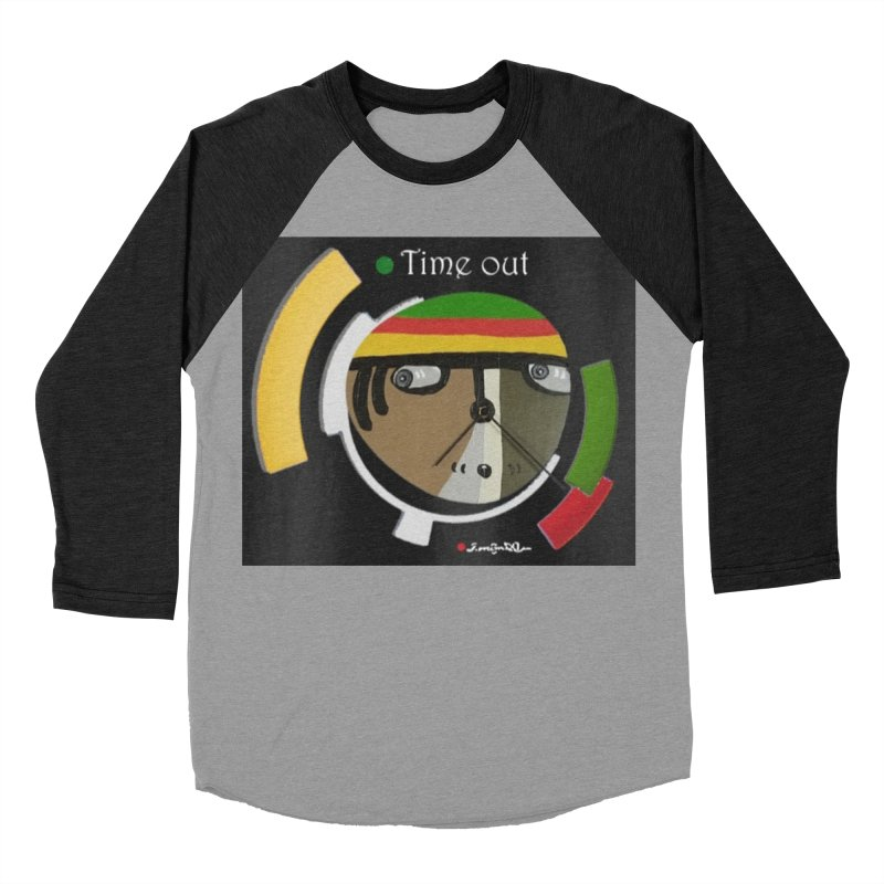 Time Out Women's Baseball Triblend Longsleeve T-Shirt by Mozayic's Artist Shop