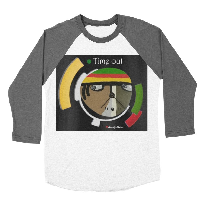 Time Out Men's Baseball Triblend Longsleeve T-Shirt by Mozayic's Artist Shop