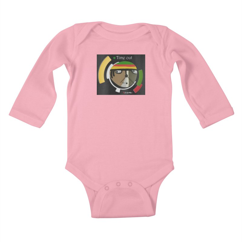 Time Out Kids Baby Longsleeve Bodysuit by Mozayic's Artist Shop