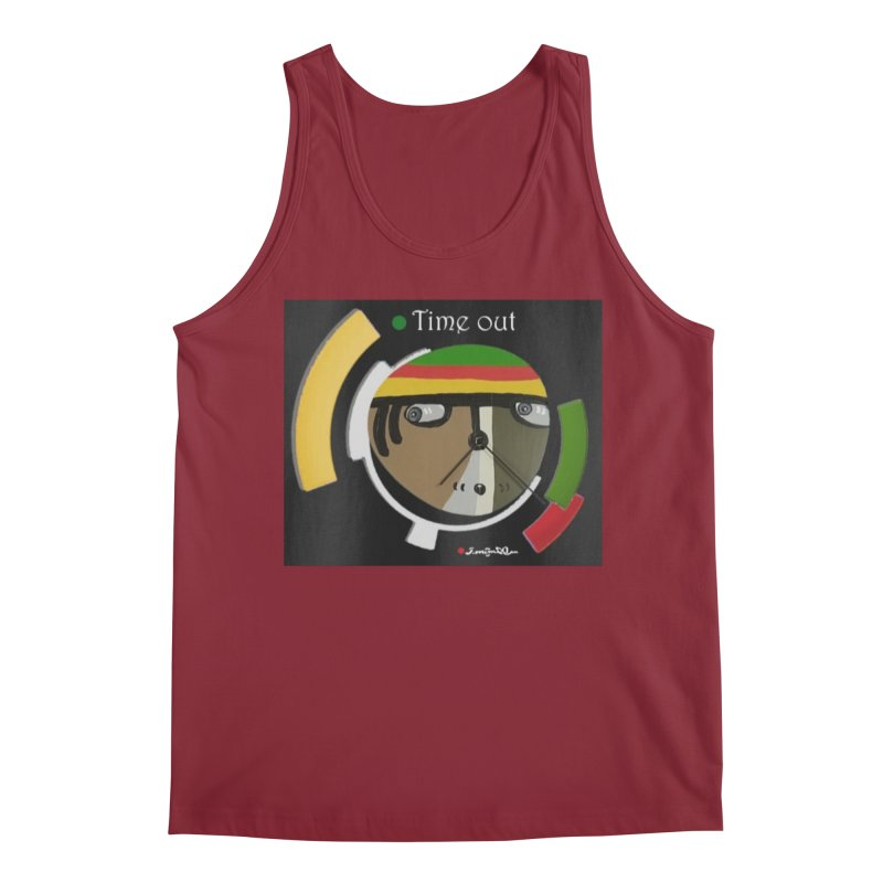 Time Out Men's Tank by Mozayic's Artist Shop
