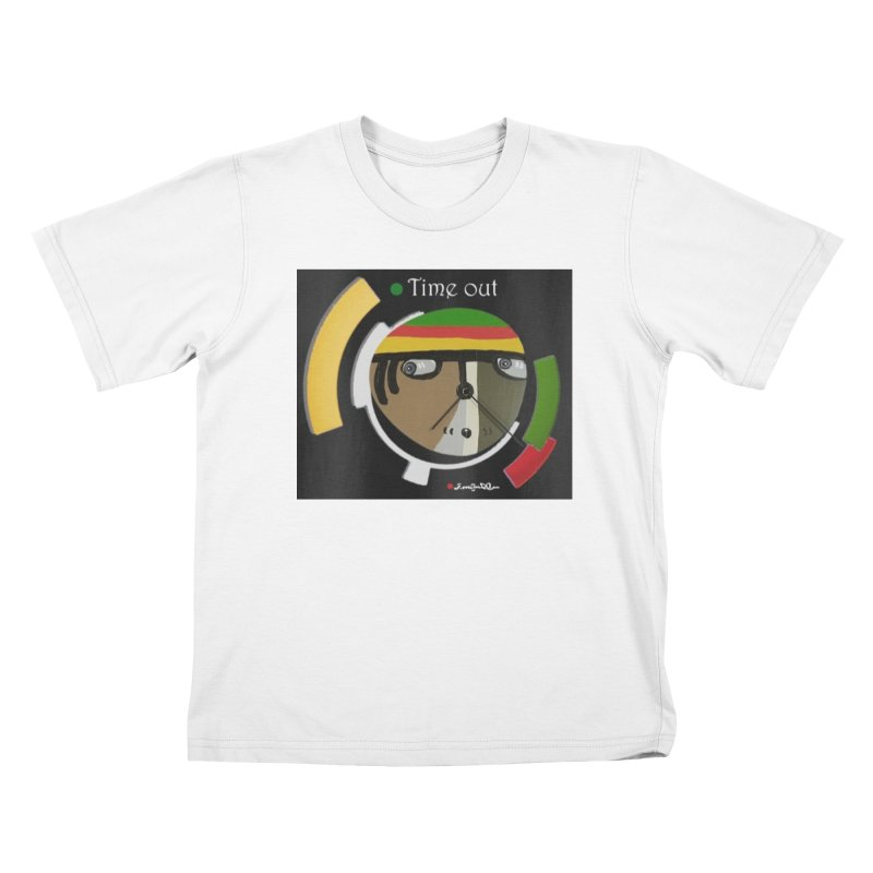 Time Out Kids T-Shirt by Mozayic's Artist Shop
