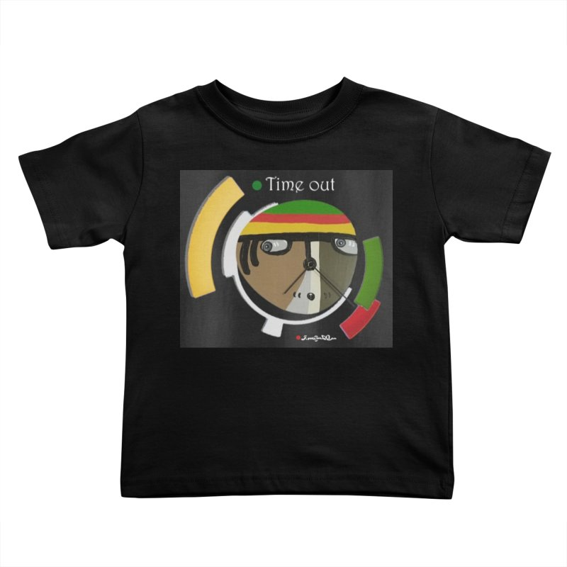 Time Out Kids Toddler T-Shirt by Mozayic's Artist Shop