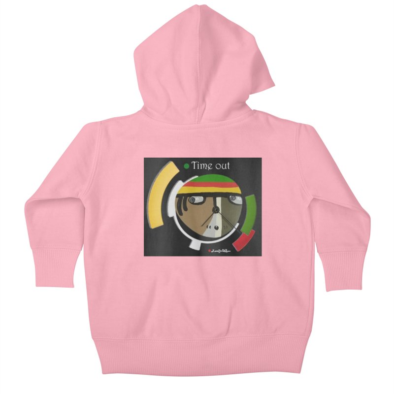 Time Out Kids Baby Zip-Up Hoody by Mozayic's Artist Shop
