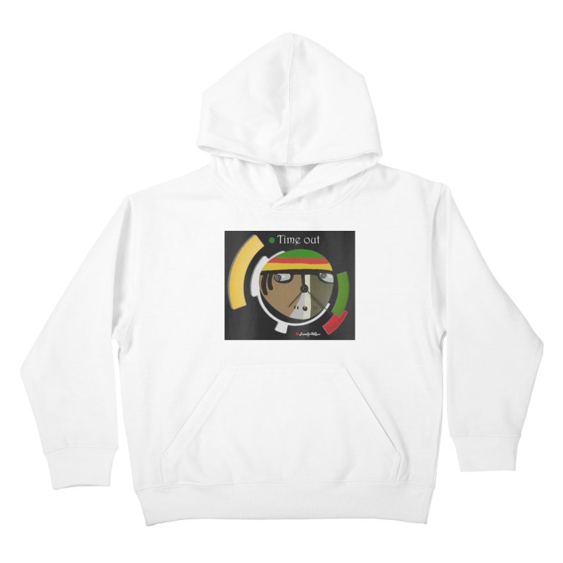 Time Out Kids Pullover Hoody by Mozayic's Artist Shop