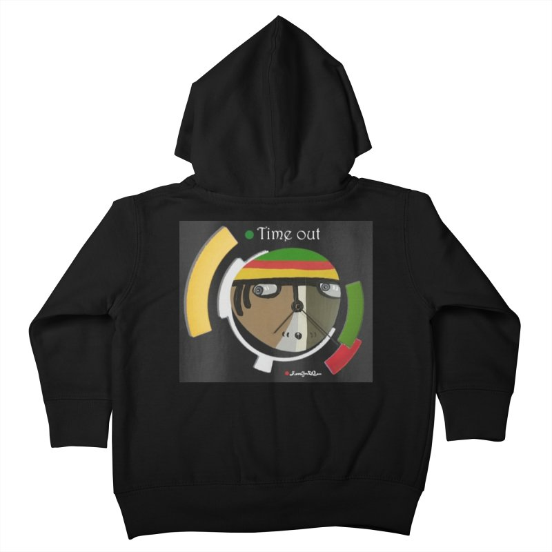Time Out Kids Toddler Zip-Up Hoody by Mozayic's Artist Shop