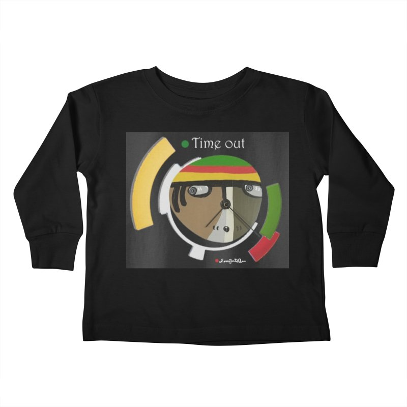 Time Out Kids Toddler Longsleeve T-Shirt by Mozayic's Artist Shop